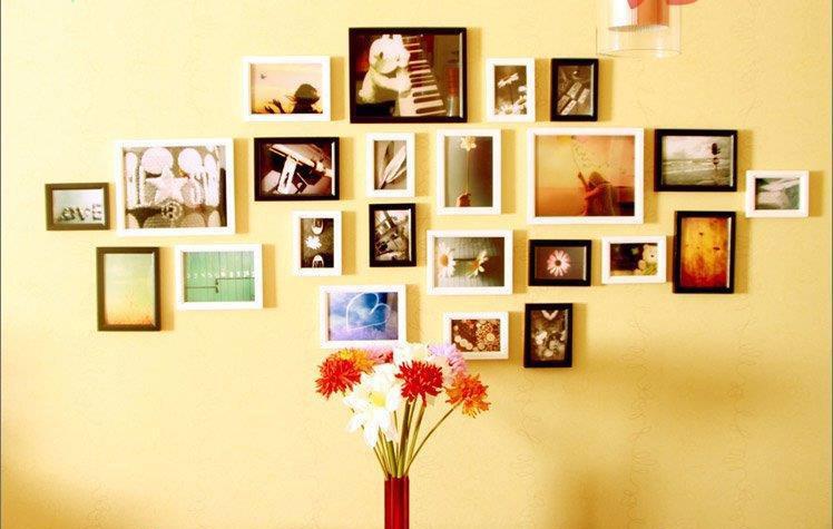 Bộ khung ảnh là sản phẩm trang trí không thể thiếu cho mọi gia đình