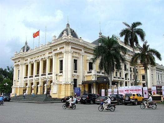 Nét kiến trúc khu phố Pháp - Hà Nội