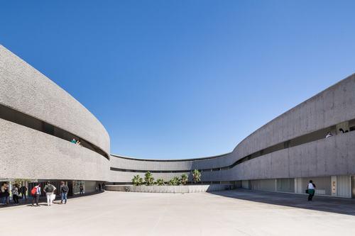 111727baoxaydung image003 Chiêm ngưỡng thiết kế mới cho Khoa Mỹ thuật – Đại học La Laguna