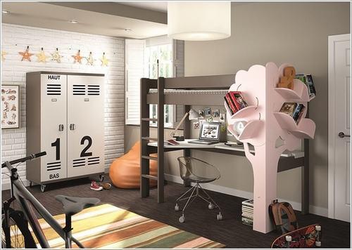 141943baoxaydung image003 Gợi ý thiết kế phòng ngủ trẻ em đẹp và đa chức năng