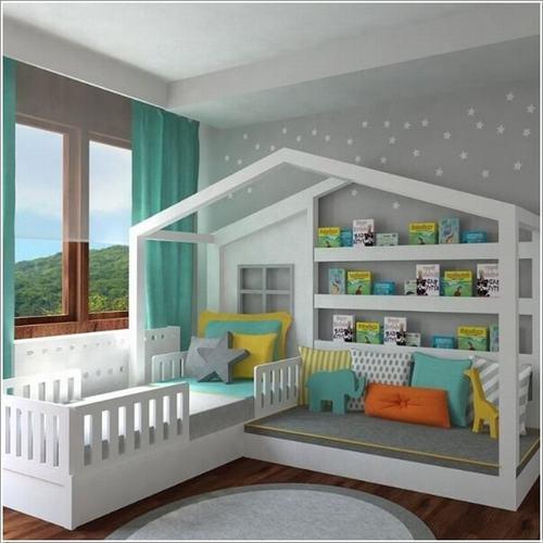 141943baoxaydung image004 Gợi ý thiết kế phòng ngủ trẻ em đẹp và đa chức năng
