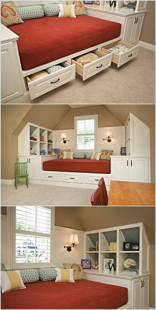 141944baoxaydung image006 Gợi ý thiết kế phòng ngủ trẻ em đẹp và đa chức năng