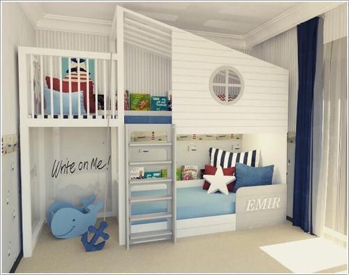 141944baoxaydung image007 Gợi ý thiết kế phòng ngủ trẻ em đẹp và đa chức năng