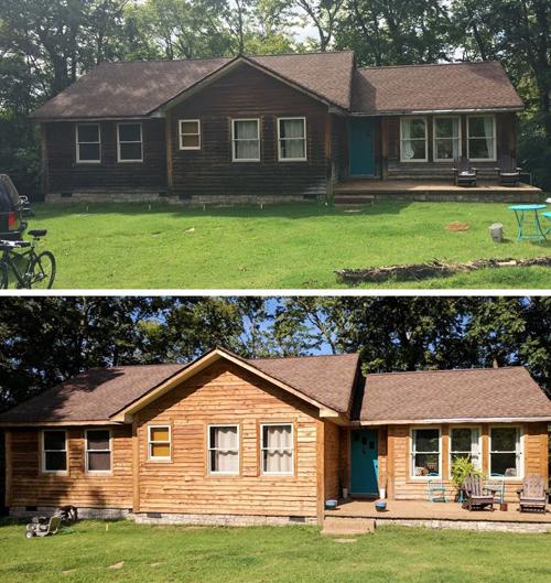 Các căn nhà đẹp như mới chỉ nhờ việc lau dọn
