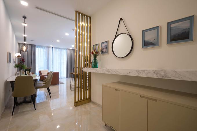 Căn hộ 76 m2 được hoàn thành nội thất trong 7 ngày
