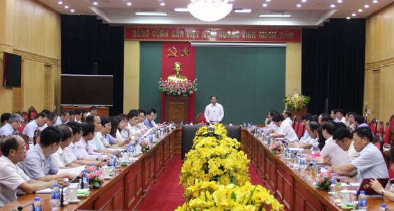 Kiểm tra kết quả thực hiện Nghị quyết Trung ương 4 (khóa XII) tại Thái Nguyên