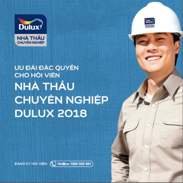 """""""Chương trình Nhà thầu chuyên nghiệp Dulux"""" - Đơn giản hóa việc tìm nhà thầu sơn uy tín"""