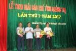 Quảng Trị: Trao Giải báo chí lần thứ nhất - năm 2017