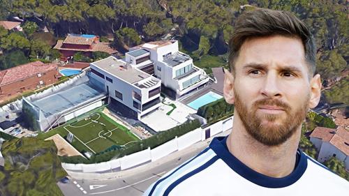 10 ngôi nhà đắt nhất của các siêu sao bóng đá