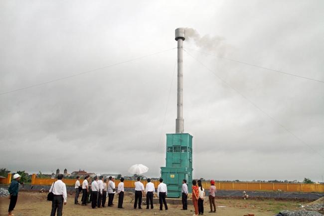Yên Lạc (Vĩnh Phúc): Xã Đồng Văn khắc phục ô nhiễm rác thải tiến tới xây dựng lò đốt rác công nghệ mới LOSIHO