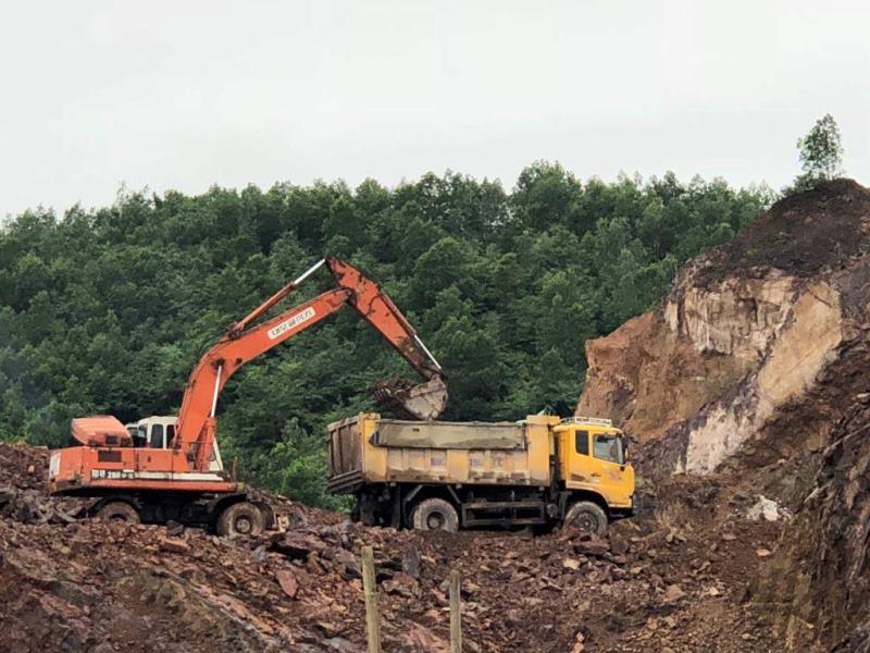 Đề nghị UBND tỉnh Thái Nguyên xem xét thu hồi giấy phép khai thác khoáng sản đã cấp cho Cty Tân Hưng Thịnh