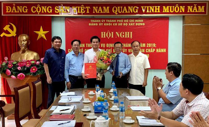 Đồng chí Hoàng Hải tham gia Ban Chấp hành Đảng bộ Khối cơ sở Bộ xây dựng tại TP Hồ Chí Minh