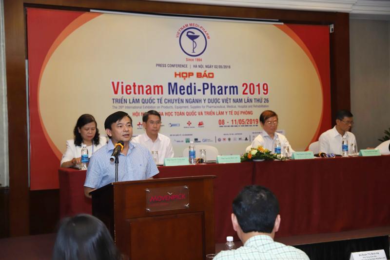Hơn 500 gian hàng tham dự triển lãm quốc tế chuyên ngành Y dược Việt Nam 2019
