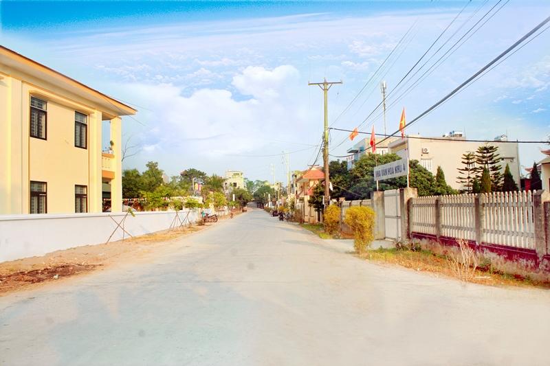 Cẩm Khê (Phú Thọ): Chuyển mình trong xây dựng nông thôn mới