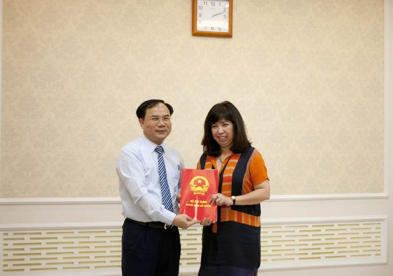 Bổ nhiệm Trưởng Văn phòng thường trực Ban Chỉ đạo quy hoạch và đầu tư xây dựng vùng Thủ đô Hà Nội