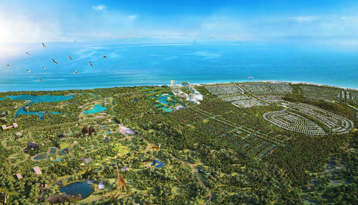 Dự án Safari Hồ Tràm của Novaland được tỉnh Bà Rịa - Vũng Tàu ủng hộ