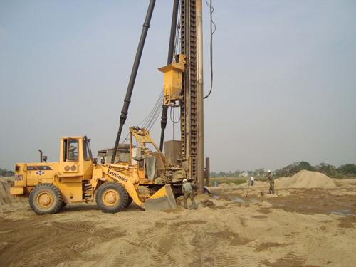 Định mức thi công giếng cát và các hao phí tại Dự án đường ôtô Tân Vũ, Hải Phòng