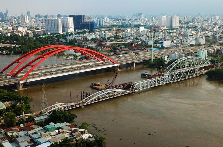 Cầu đường sắt gần 120 tuổi ở Sài Gòn được đề nghị bảo tồn