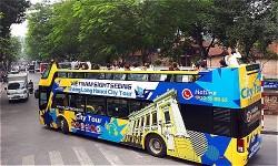 Xe buýt 'mui trần' sắp hoạt động ở Sài Gòn