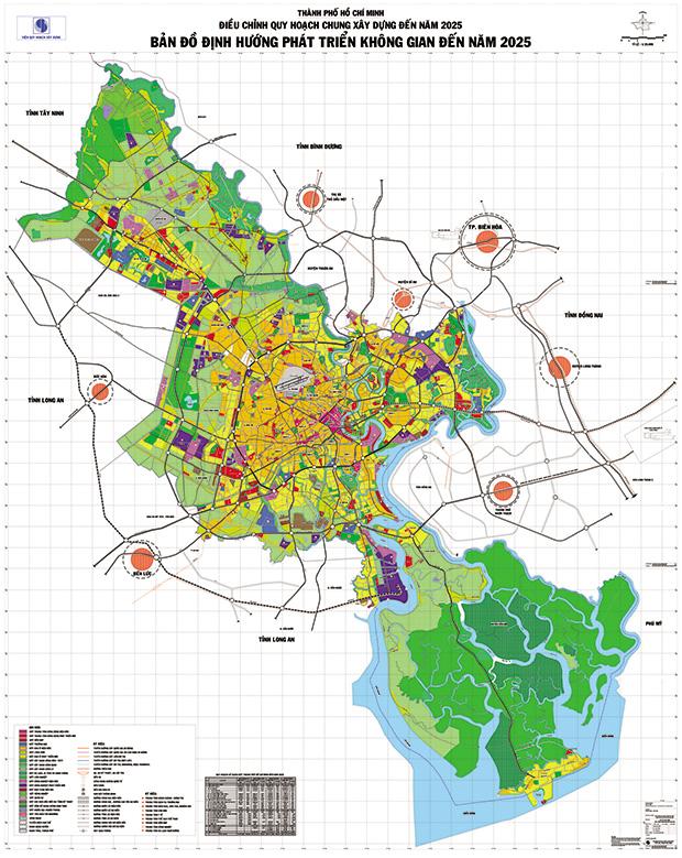 TP Hồ Chí Minh phê duyệt 600 đồ án quy hoạch 1/2000