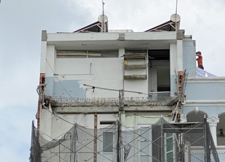 Sở Xây dựng Thành phố Hồ Chí Minh: Không có văn bản nào cho phép tồn tại công trình vi phạm xây dựng