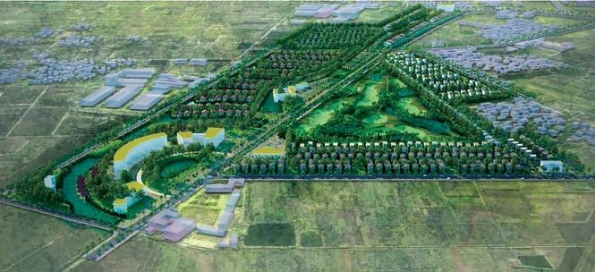 Hà Nội sẽ có thêm Khu nhà vườn du lịch sinh thái và sân tập golf Vân Tảo quy mô 66ha