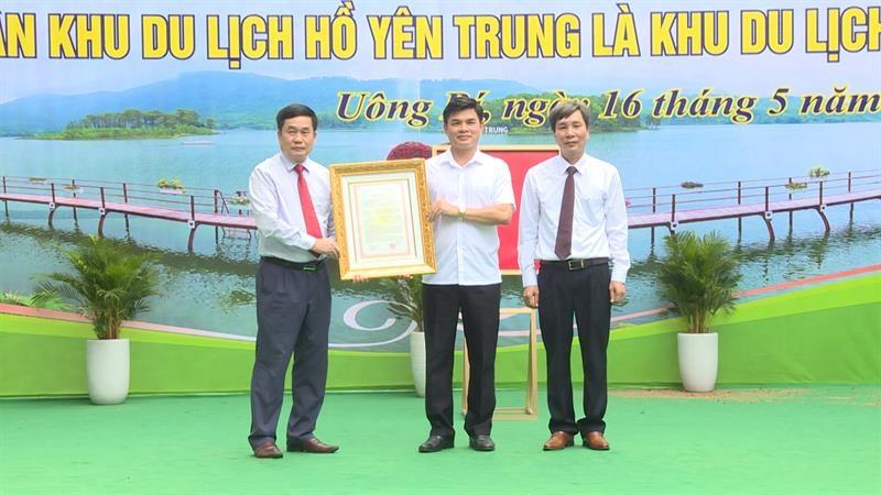 Uông Bí (Quảng Ninh): Hồ Yên Trung được công nhận là khu du lịch cấp tỉnh