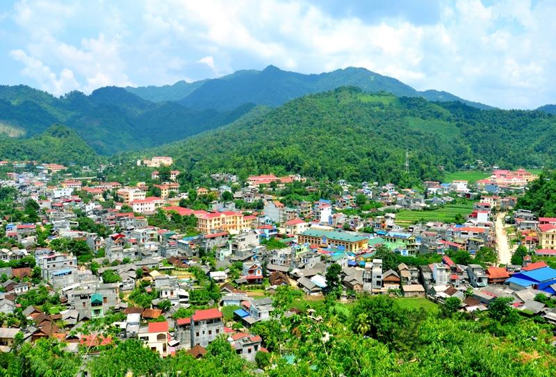 Bắc Kạn: Điều chỉnh, mở rộng quy hoạch xây dựng thị trấn Bằng Lũng