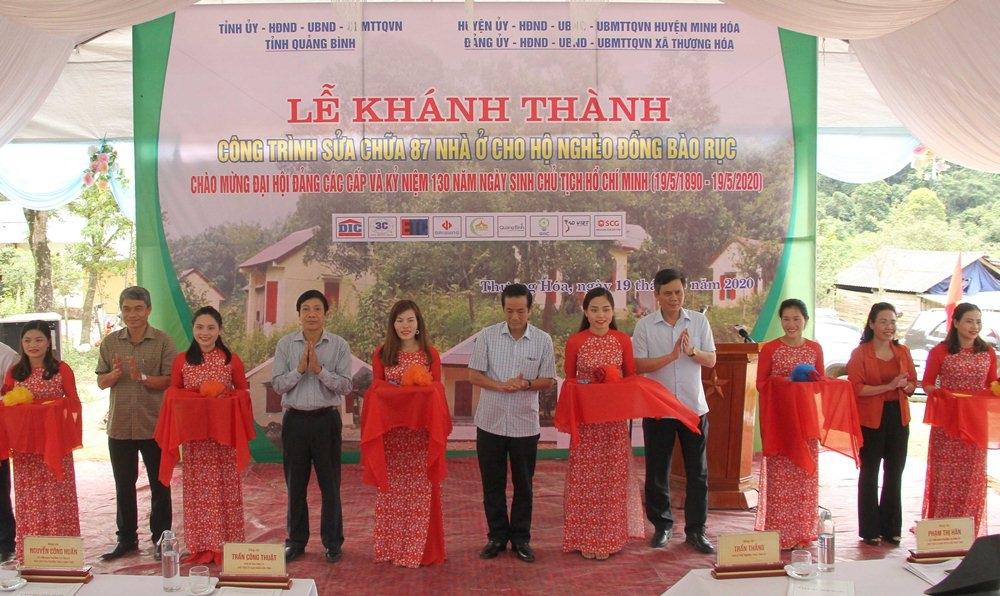 Quảng Bình: Sửa chữa, bàn giao 87 căn nhà cho đồng bào dân tộc Chứt