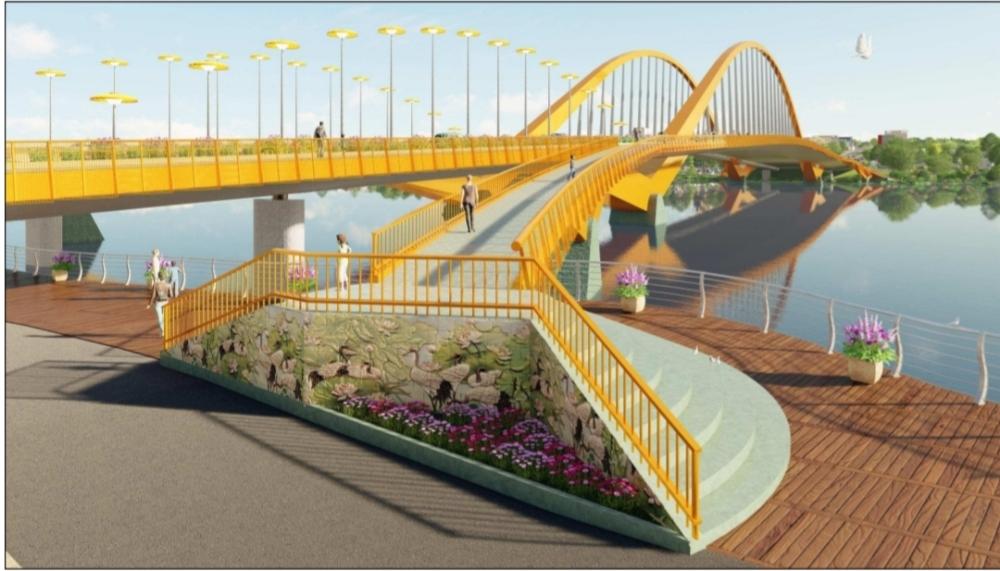 Thi tuyển chọn kiến trúc cầu vượt sông Hương: Phương án có số phiếu bình chọn thấp