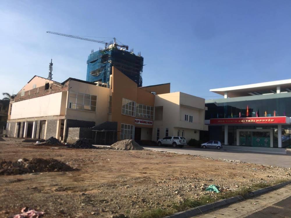Thái Nguyên: Rõ hơn về công trình nhà thiếu nhi bị chê bởi kiến trúc không bằng cũ
