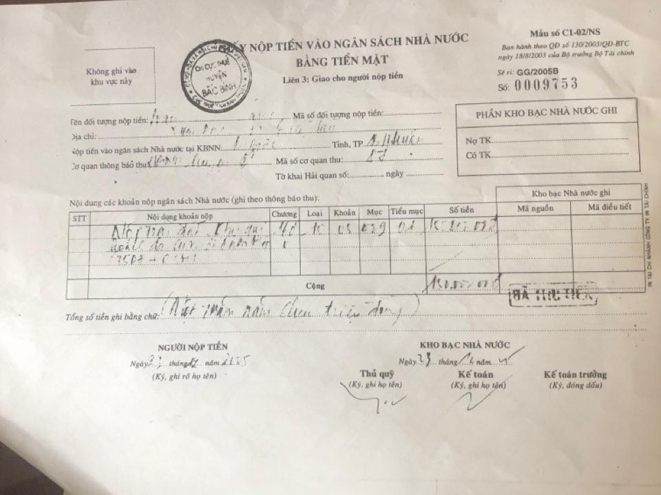 Bắc Bình (Bình Thuận): 15 năm gian nan hành trình đi đòi đất