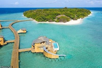 Nhà giàu Ấn Độ chi bộn tiền du lịch Maldives trốn