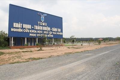 Cận cảnh 57ha đất để xây Đại học Thủ Dầu Một nhưng bỏ không suốt 10 năm