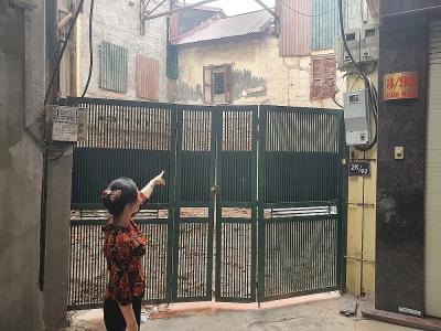 Ba Đình (Hà Nội): Cần xác định mốc giới giữa chung cư 27A Đặng Dung và công trình số 2 ngõ 92 phố Cửa Bắc