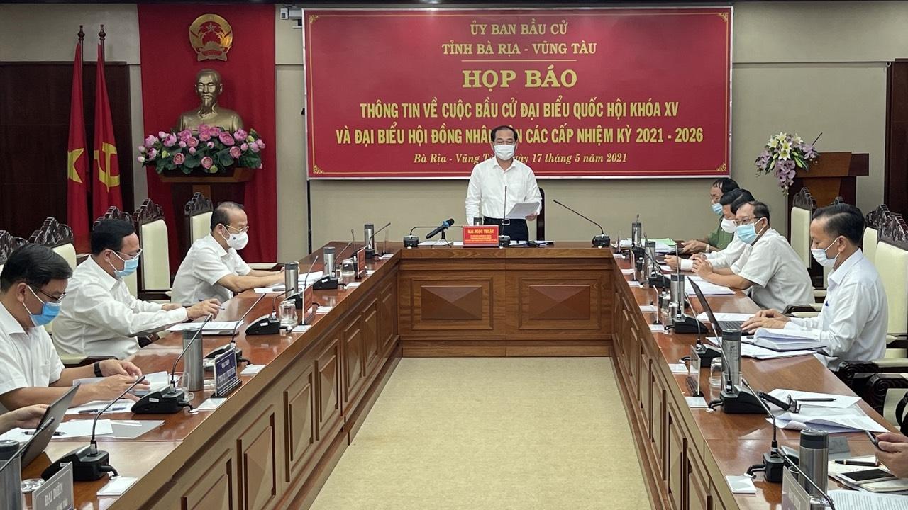 Bà Rịa – Vũng Tàu: Công tác bầu cử cơ bản đã hoàn tất