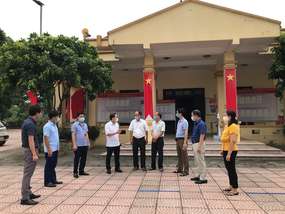 Vĩnh Yên (Vĩnh Phúc): Sẵn sàng cho bầu cử đại biểu Quốc hội khóa XV và đại biểu HĐND các cấp nhiệm kỳ 2021 - 2026