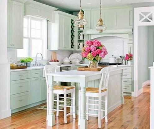 Bỏ túi cách trang trí phòng bếp đẹp đơn giản cho nhà ống hiện đại