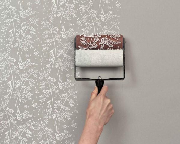 Sơn hoa văn tường - Nghệ thuật trang trí họa tiết tạo không gian độc đáo, phong cách