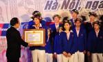 Ánh Viên nhận Huân chương Lao động hạng nhì
