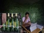 Xây nhà bằng 8.500 vỏ chai bia