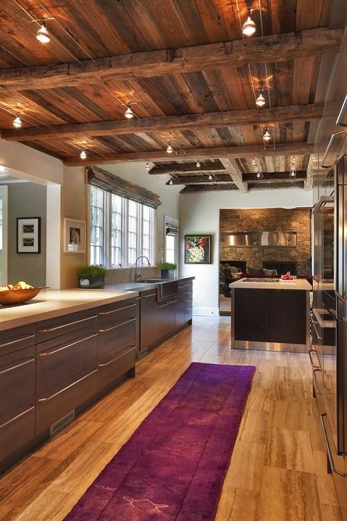 154759baoxaydung image002 Thiết kế độc đáo với trần nhà bằng gỗ