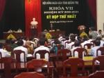 Quảng Trị bầu Chủ tịch HĐND tỉnh nhiệm kỳ mới