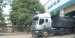 Vận chuyển hơn 2.000 tấn vữa Mova xuyên 10 tỉnh, thành trên các xe quá tải
