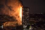 London: 200 lính cứu hỏa đang cố gắng kiểm soát đám cháy ở chung cư Grenfell