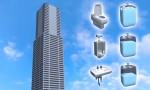 Hệ thống xử lý chất thải bồn cầu ở nhà cao tầng