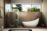 Xu hướng sử dụng vật liệu tự nhiên trong thiết kế phòng tắm