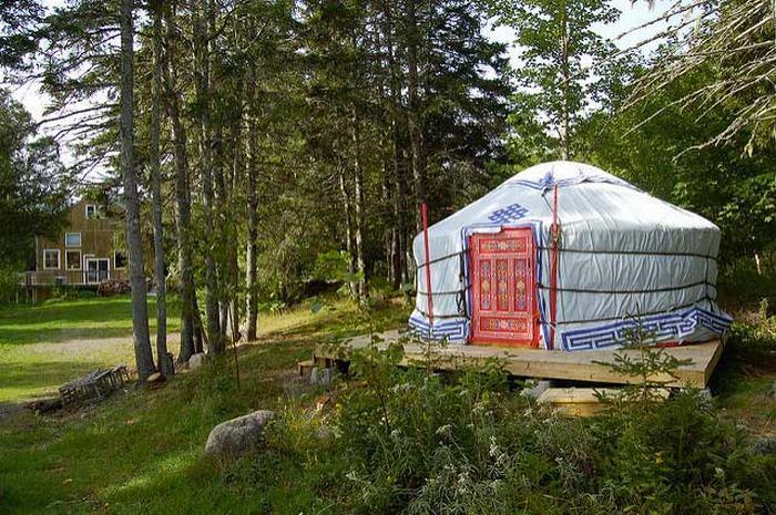 Nguồn gốc của những ngôi nhà siêu nhỏ ở Mông Cổ