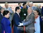 Chủ tịch nước Trần Đại Quang gặp mặt các bạn Nga