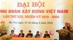 Công đoàn Xây dựng Việt Nam tổ chức đại hội lần thứ XIII